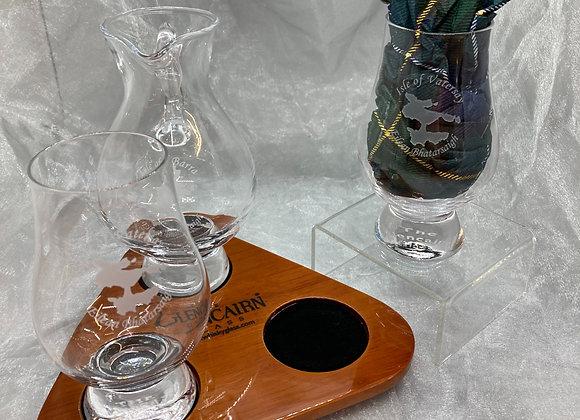 Glasses and Whisky Tasting Set