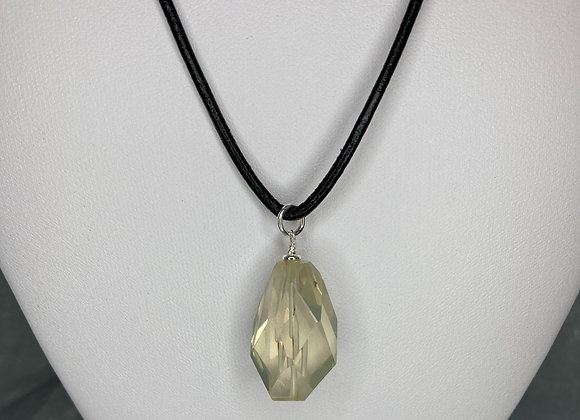 Lemon Quartz Pendant