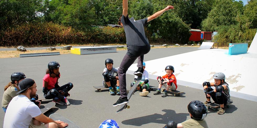 B'skateboarding - Skate Workshop Level 1 - 19.07.-25.07.21