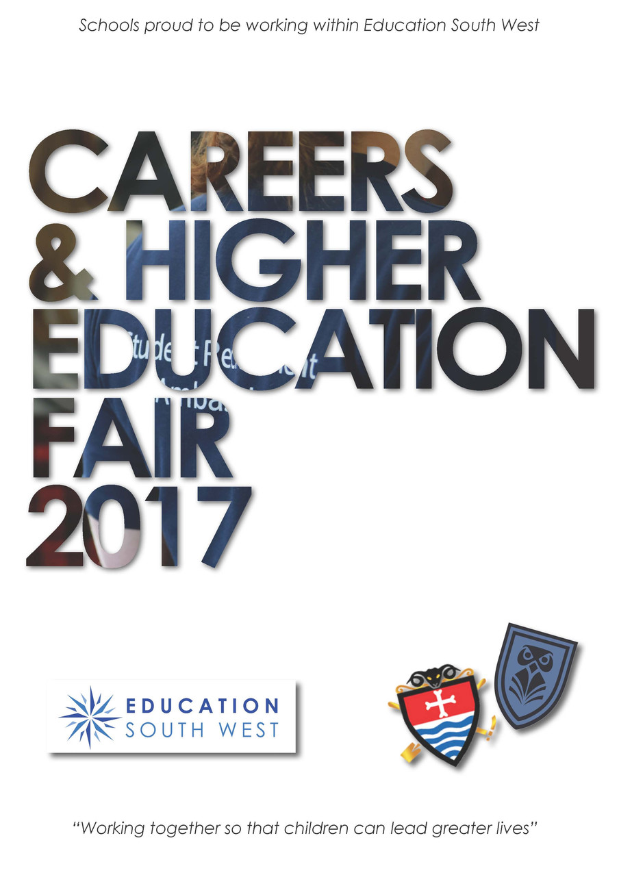 careers higher education fair 2017 education south west monday 20th education south west