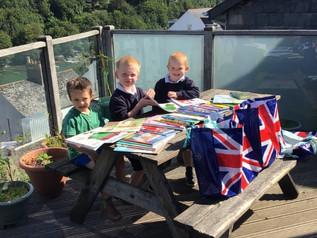Kingswear Pupils Ready to Read!