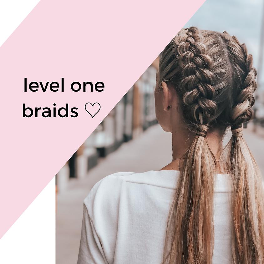 level one brunch & braids ♡
