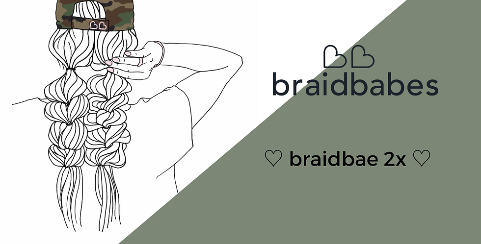 gift certificate - braidbae 2x - 3 months