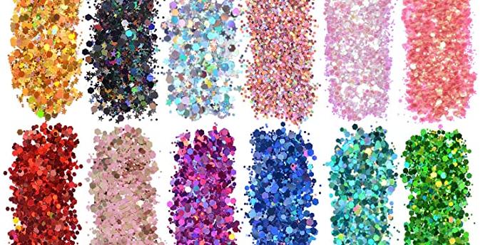 A - glitter