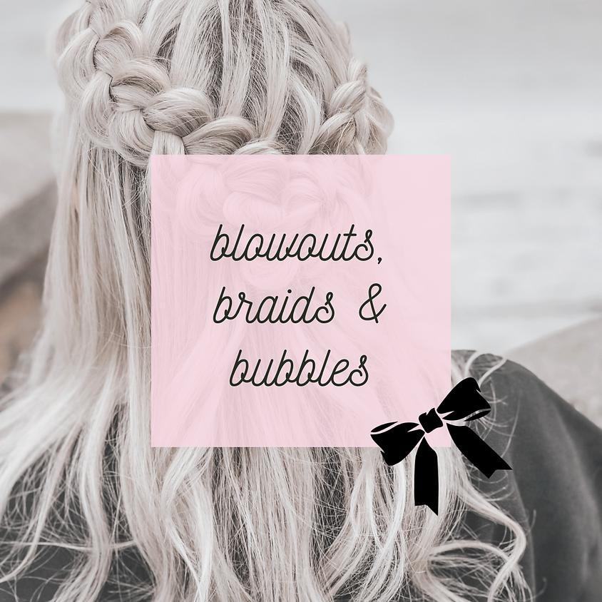 Blowouts, Braids, and Bubbles
