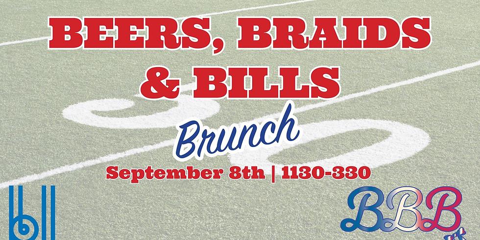 *FREE BRAIDS* Beers, Braids and Bills Brunch - Belt Line Brewing