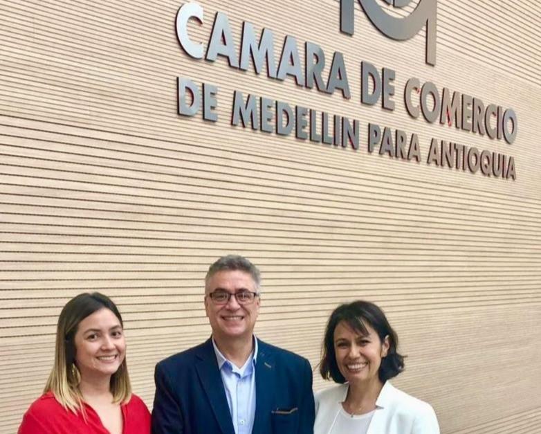 Natalia Isaza, Jorge Villegas, Myriam Salcedo