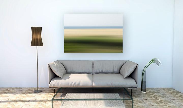 Landschaftskompositonen im Raum