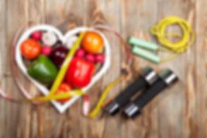 Ernährungsplan und Körperanalyse