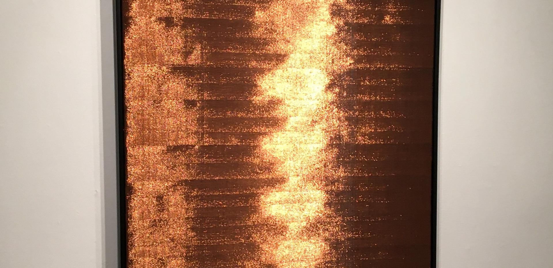 Woven copper