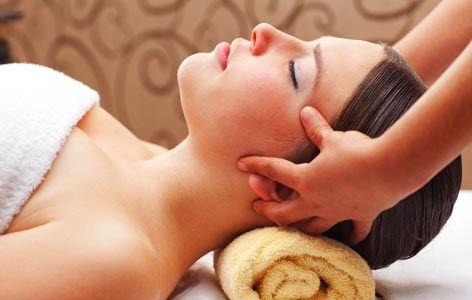 Facial beauty Massage