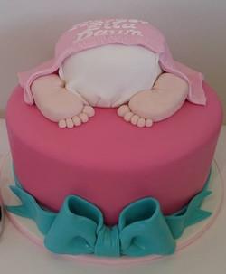 Baby Bottom Cake