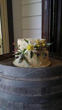 rustic native flowers - poaches pantry