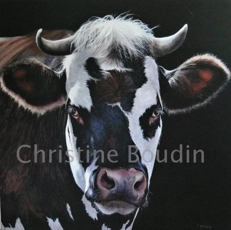 Normande  Peinture de l'artiste Christine Boudin
