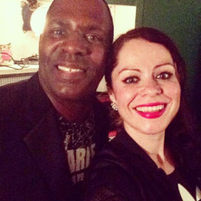 Me and the lovely #mopleasure #backstage
