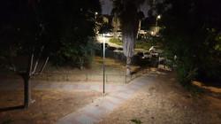 תאורה סולארית פארק ציבורי