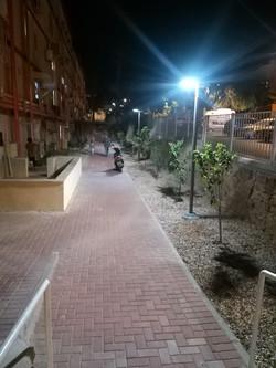 תאורה סולארית פוריקט עיריית אילת