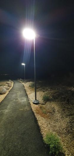 תארות רחוב סולארית כביש