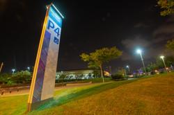 תאורה סולארית פוריקט אצטדיון סמי עופר