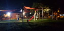 תאורה סולארית בפארק