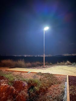 תאורה סולארית גינה ציבורית