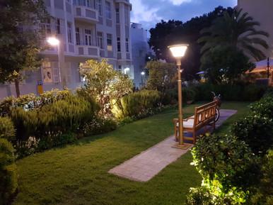 תאורה רחוב סולארית מלון נורמן