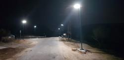 תאורת רחוב סולארית במרחב הציבורי