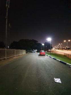 תאורה סולארית פוריקט עיריית לוד