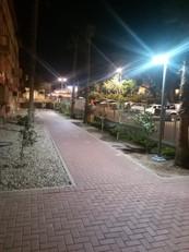 תאורה רחוב סולארית עיריות בישראל