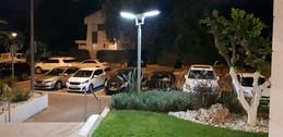 תאורה סולארית עמוד תאורה