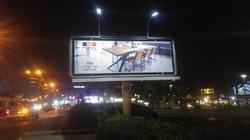 שלט חוצות מואר