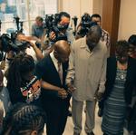 DAZIE WILLIAMS FAMILY PRAY BEFORE COURT