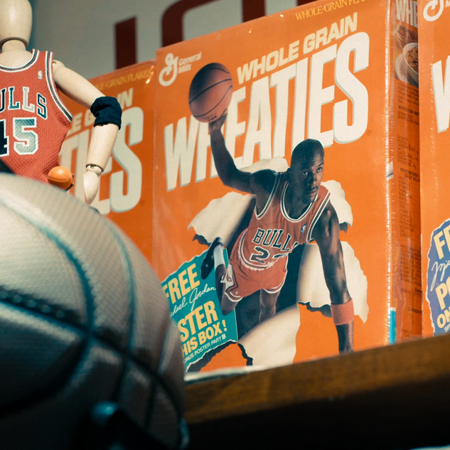 JORDAN BRAND ENDORSEMENTS WHEATIES