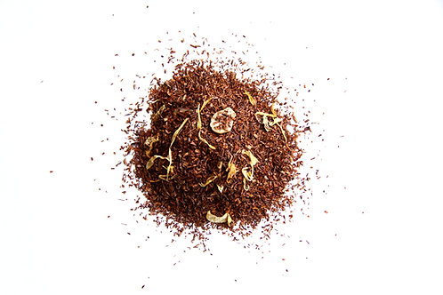 vanilla flavoured south African naturally decaffeinated  Rooibos red tea