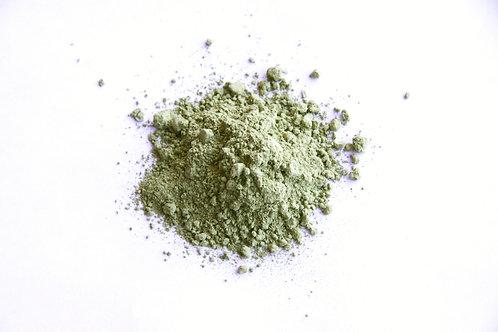 organic Japanese powdered green tea leaf matcha
