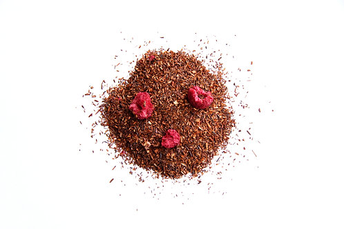 raspberry flavoured south African naturally decaffeinated Rooibos red tea