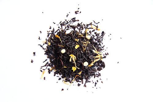 white chocolate black tea blend