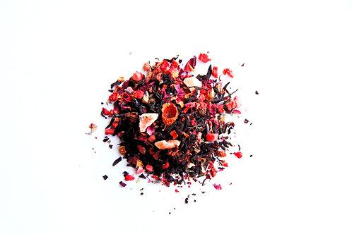 Prairie Rose Wild Strawberry Artisan Black Tea