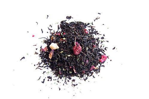 raspberry fruity black tea blend