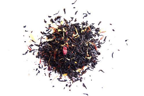 Caramel Cherry Cheesecake Loose Leaf Black Tea Blend, Dessert Tea