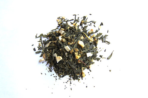 peach green tea blend