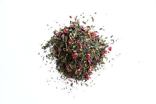 Kyoto cherry rose green tea blend