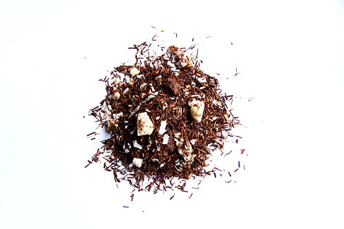 coconut and pineapple flavoured  south African naturally decaffeinated Rooibos red tea