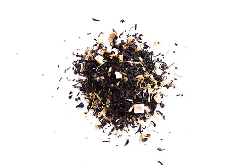 apricot peach black tea blend