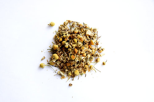 chamomile Egyptian whole flower organic herbal tea