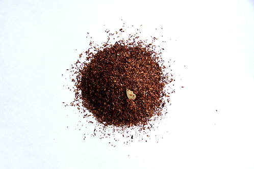 Marzipan almond flavoured south African naturally decaffeinated Rooibos red tea