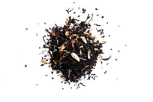 lemon ginger black tea blend