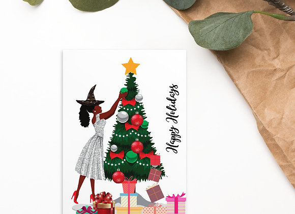 Magical Christmas Standard Postcard