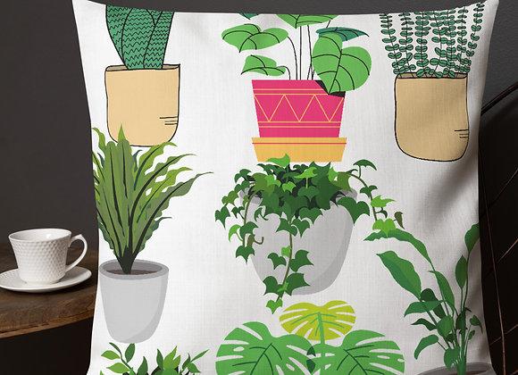 Plant Lover Premium Pillow
