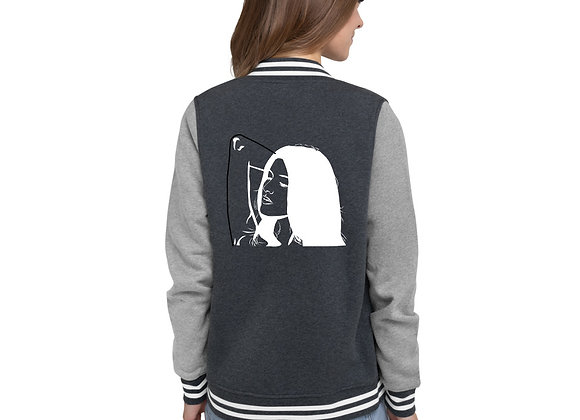 Groovy Women's Letterman Jacket